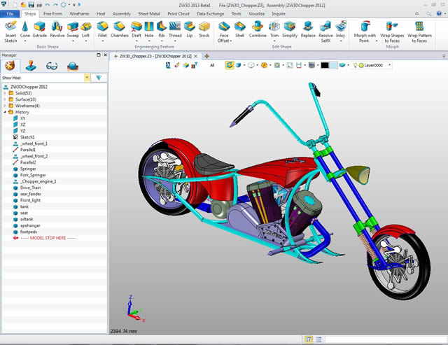 ZW3D-Produktive- Modellierung