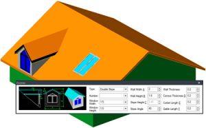 Dach, Gauben und Dachfenster mit wenigen Klicks erzeugen