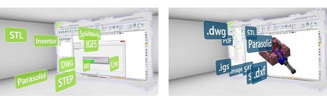 ZW3D-Leistungsstarker- Datenaustausch